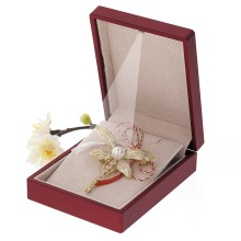 Brosa Gold Plated Libelula Aurie