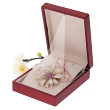 Brosa Gold Plated Floare Aurie