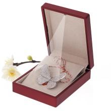 Brosa Gold Plated Fluture Argintiu